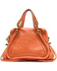 Chloé Paraty Medium Leather Shoulder Bag - Lyst