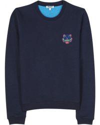 Kenzo Sweatshirt with Embroidered Logo - Lyst
