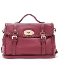 Mulberry - Alexa Oversized Woven Bag - Lyst