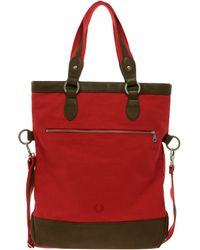 Fred Perry - Foldover Tote Bag - Lyst