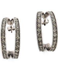 Giles & Brother - Ceres Hoop Earrings - Lyst