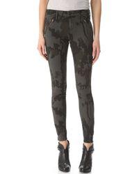 Habitual | Amalia Zip Skinny Jeans | Lyst