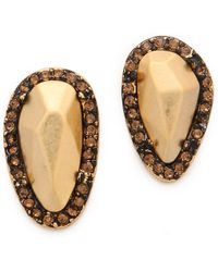 House of Harlow 1960 - Pebble Stud Earrings - Lyst