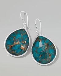 Ippolita Wonderland Turquoise Teardrop Earrings green - Lyst