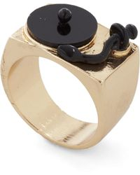 ModCloth - Positive Spin Ring - Lyst