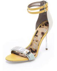 Sam Edelman Allie High Heel Sandals - Lyst