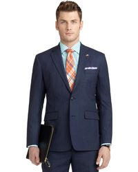 Brooks Brothers Milano Fit with Shadow and Mini Bead Stripe Suit - Lyst
