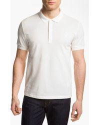 Versace Cotton Polo Shirt - Lyst