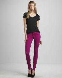 Sold Denim - Spring Street Skinny Jeans Purple - Lyst