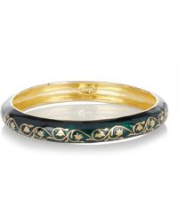 Isharya - Florentine 18 Karat Gold Plated Bracelet - Lyst