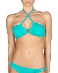 Diesel Lady Bikini Top blue - Lyst