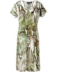 Just Cavalli Short Dress - Lyst