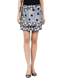 Suno Mini Skirt - Lyst