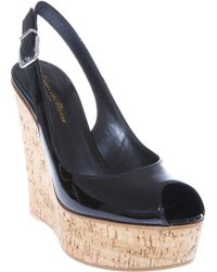 Gianvito Rossi Sling Back Wedge - Lyst