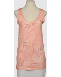 Giles Pink Tops - Lyst