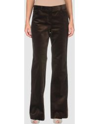 Theory Casual Trouser brown - Lyst