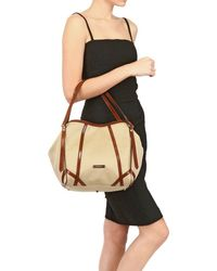 Burberry Small Tech Cotton Bag - Lyst