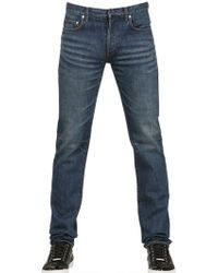 Dior Homme 19Cm Used Denim Jeans blue - Lyst