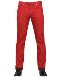 Dior Homme 19Cm Regal Drill Jeans red - Lyst