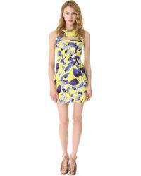 Milly Cutout Mini Dress - Lyst