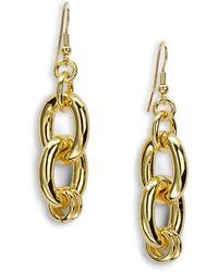 1AR By Unoaerre - Link Drop Earrings - Lyst