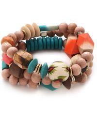 Bluma Project - Laila Bracelet Set - Lyst