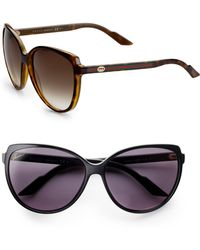 Gucci | Young Project Cat's-eye Sunglasses | Lyst