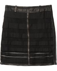 Kelly Wearstler Black Microcosm Skirt - Lyst