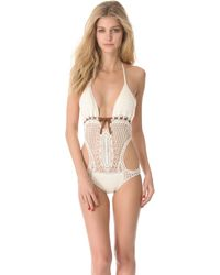 Lisa Maree - Time Stands Still One Piece Swimsuit - Lyst