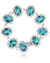 Mawi - Linked Crystal Bracelet - Lyst