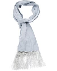 Paul Smith Jacquard Micro Dot Scarf - Lyst