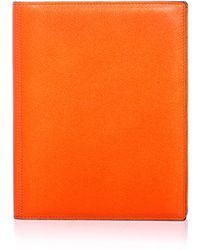 Valextra Leather Ipad® Case - Lyst