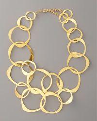 Herve Van Der Straeten - Circlelink Bib Necklace - Lyst
