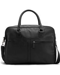 Mango - Leather Effect Briefcase - Lyst