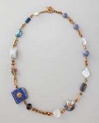 Stephen Dweck - Multistone Necklace 37l - Lyst