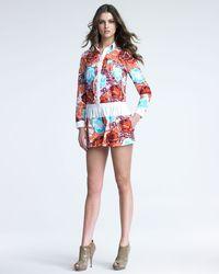 Thakoon Addition - Hawaiian-print Poplin Jumpsuit - Lyst