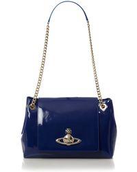Vivienne Westwood Apollo Shoulder Bag blue - Lyst