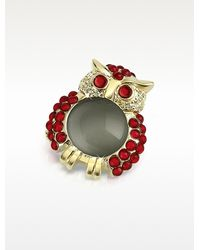 Az Collection Red Owl Pin - Lyst