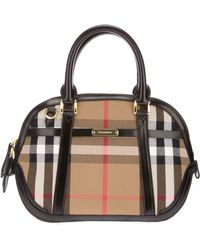 Burberry 'Orchard' Tote - Lyst