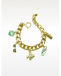 Juicy Couture - Fully Loaded Charm Bracelet - Lyst