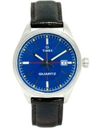 Timex -  Leather Strap Watch - Lyst