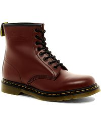 Dr. Martens Original 8-Eye Boots red - Lyst