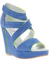 Serafini - Wedge Sandal - Lyst