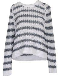 Theyskens' Theory Long Sleeve Sweaters - Lyst