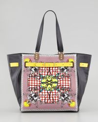Christian Louboutin Sybil Large Printed Tote Bag - Lyst