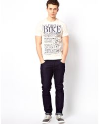 Lyst - Esprit Tshirt with First Bike Print in White for Men 82e3abf7ff