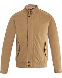 Gant Rugger Weeds Harrington Jacket - Natural