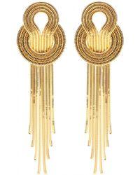 Lara Bohinc - Saturn Earrings - Lyst