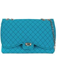 Leghilà - Butterfly Quilted Neoprene Shoulder Bag - Lyst