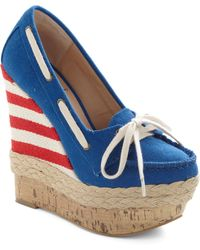 ModCloth | Port Your Heart Into It Wedge | Lyst